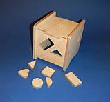 Развивающая игрушка КУБ заготовка для декупажа и декора, фото 7