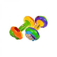 Детская развивающая игрушка Погремушка 7186 Малыш крепыш со светом и звуком Play Smart / Royaltoys