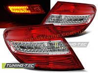 Задние фонари на Mercedes C W204 2007-2010 SEDAN