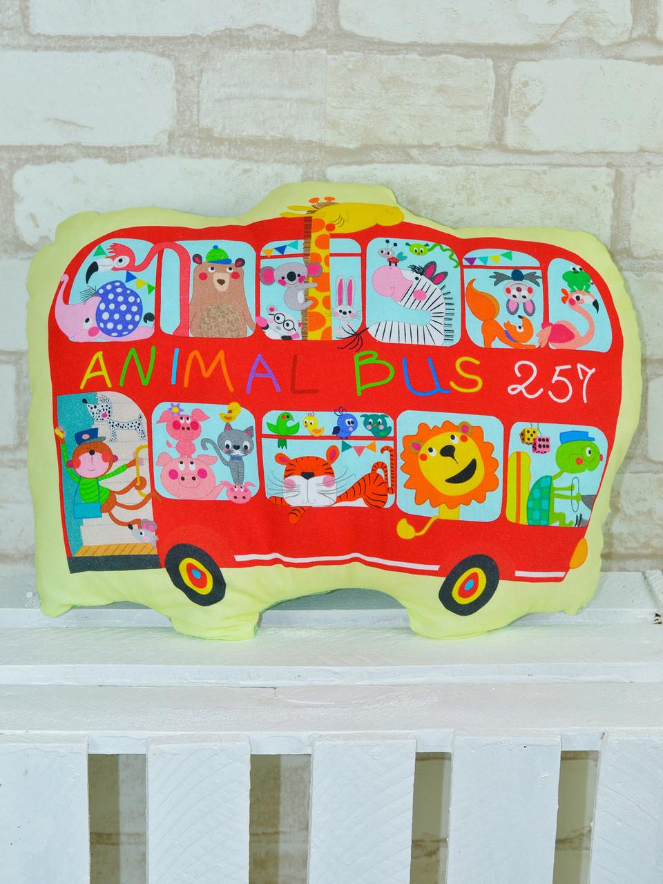 Подушка-игрушка «Автобус», Loskutini