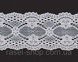 Кружево № 2011-10 beyaz 6 см