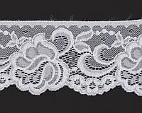 Кружево № 2005-10 beyaz 7 см