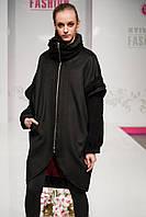 Пальто жіноче чорне Шанталь