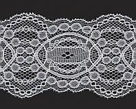 Кружево № 2047-14 beyaz 8 см