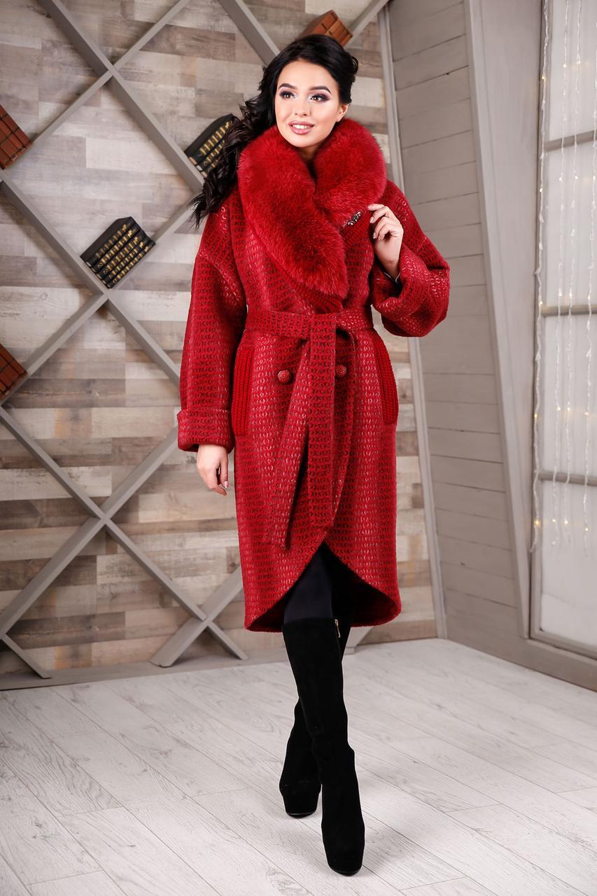 82411a8bc92fe1 Новинка!!! Очень красивое зимнее женское теплое пальто 44, 46, 48 ...