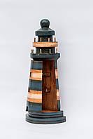 Ключница настенная деревянная Маяк размер 40*17*6 см