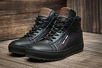 Мужские зимние ботинки Tommy Hilfiger, на меху, темно-синие