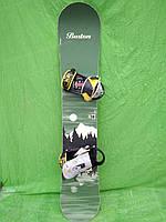 Сноуборд Burton cruizer 159 см + кріпленняBurton