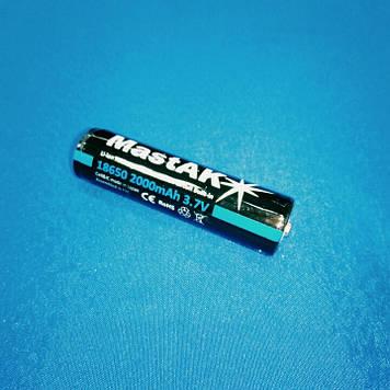 Аккумулятор Li-ion MastAK 18650 (3.6v 2000mAh)