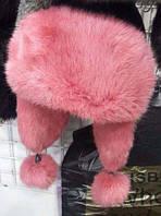 Шапка Ушанка женская! Натуралка кролик
