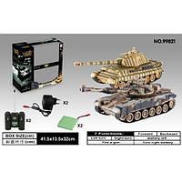 Радиоуправляемый танковый бой Т-90 vs King Tiger 99821