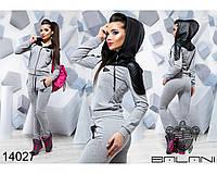Стильный женский спортивный  костюм  -  14027 р-р 42   44  46 женская одежда в интернет магазине