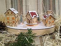 Новогоднее, рождественское украшение с подсветкой и мелодией