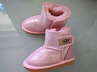 Детские угги  розовые