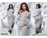 Женский спортивный костюм - 16163 р-р S   M   L женская одежда в интернет магазине Украина
