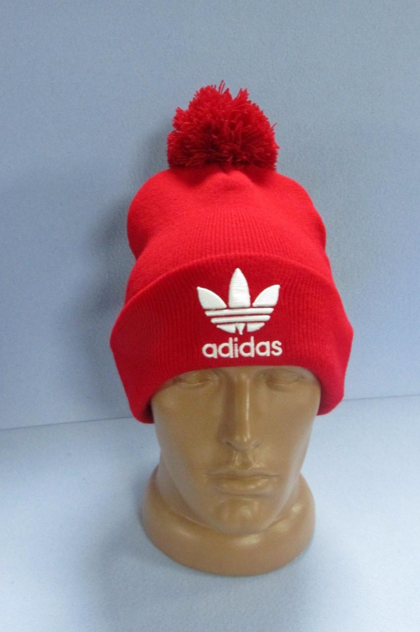 Шапка Adidas 30151 красная код 53H - СПОРТ-СИТИ в Северодонецке ab221790d9b3c