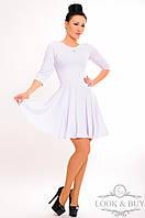 """Белое платье  """"Нью-йорк"""""""