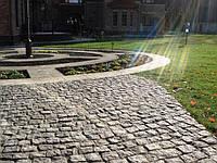 Гранитная плитка тротуарная