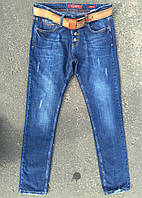 8602 Real Blue бойфренд (29-34,полубатал 6 ед) джинсы женские осень стретч