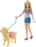 Набор Barbie Барби с собачкой из серии Уход за питомцем, Киев