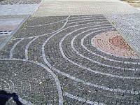 Брусчатка тротуарная из камня
