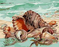 """Рисование по номерам """"Дары моря"""" набор для творчества"""