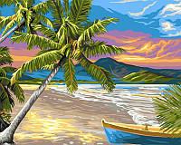 """Рисование по номерам """"Необитаемый остров"""" набор для творчества"""
