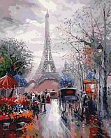 "Рисование по номерам ""Французская улочка"" набор для творчества"