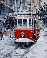 "Набор для творчества ""Заснеженный трамвай"" [40х50см, С Коробкой]"
