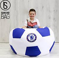 Бескаркасное кресло Мяч L с логотипом