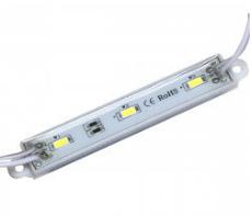Светодиодный модуль М1 5730-3 led 1,5W 12V, 3000K теплый белый