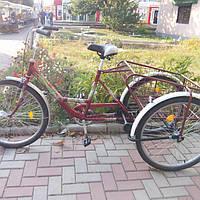 Грузовой 3-х колесный велосипед для взрослых, фото 1