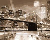 """Рисование по номерам """"Ночной город в стиле ретро"""" набор для творчества"""
