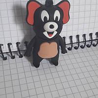 Ударопрочная флешка 16 Гб Джерри мышенок черный