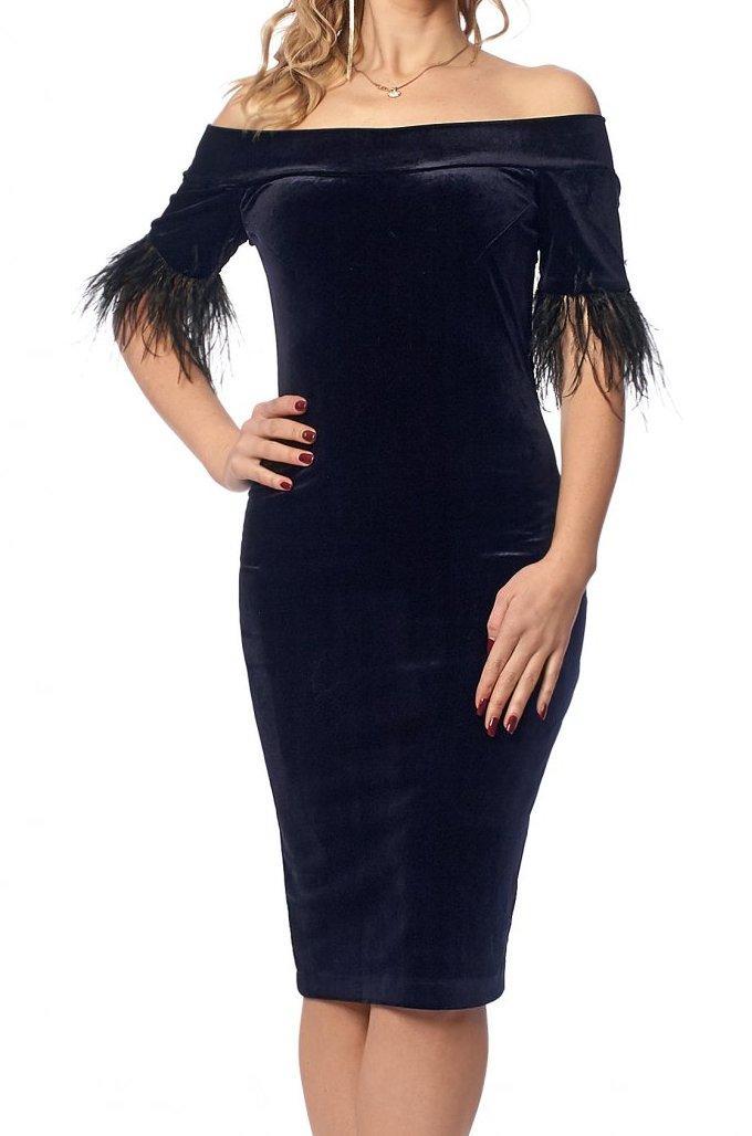 Бархатное платье Новинка сезона, фото 1