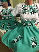 """Платье детское вышиванка 134-152 """"Принцесса"""""""