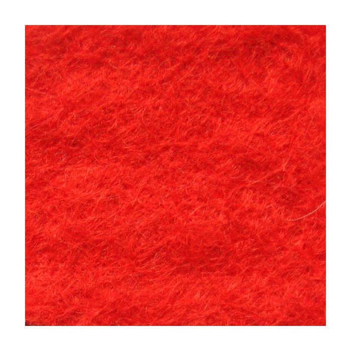 Фетр мягкий 1,3 мм, натуральный, 20х30 см, №22 красный (Испания)