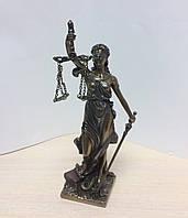 Статуэтка Фемида Veronese 21 см, богиня правосудия