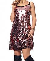 Короткое платье в нежных цветах, фото 1