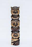 Деревянная статуэтка сова высота 100 см