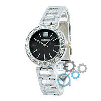 Часы Givenchy B-57 Diamonds Silver-Black