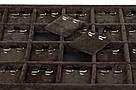 """Планшет ювелирный """"Под серьги 28 ячеек Premium Gold 35 х 24 х 4,2 см"""", фото 3"""