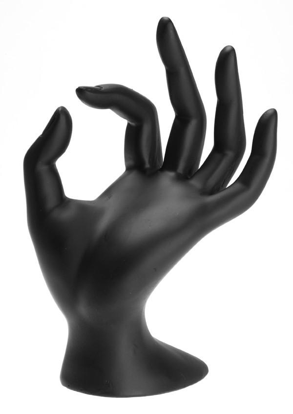 Рука черная 18 х 7 см
