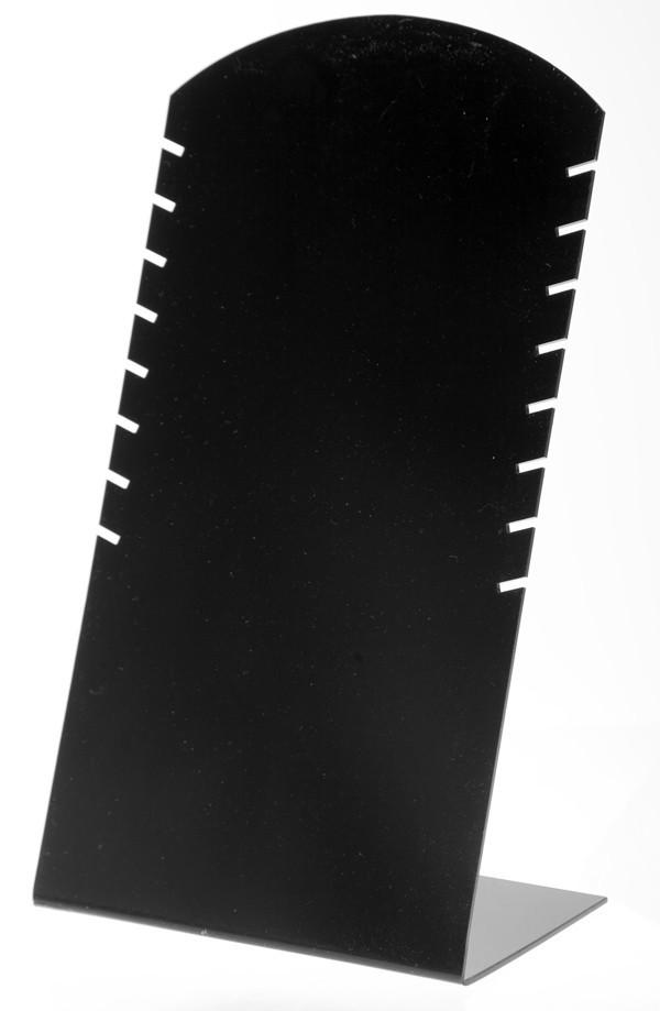 """Стойка """"Под цепочки черный пластик 30 х 16,5 см"""""""