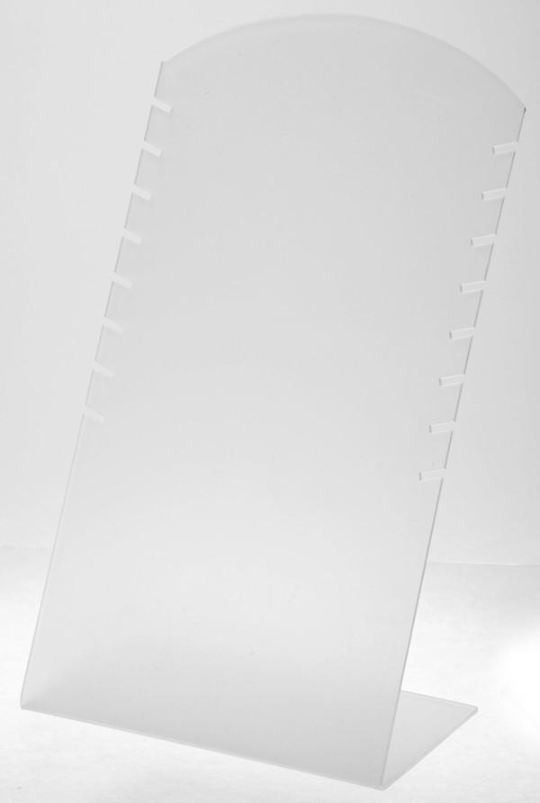 "Стойка ""Под цепочки белый пластик 30 х 16,5 см"""