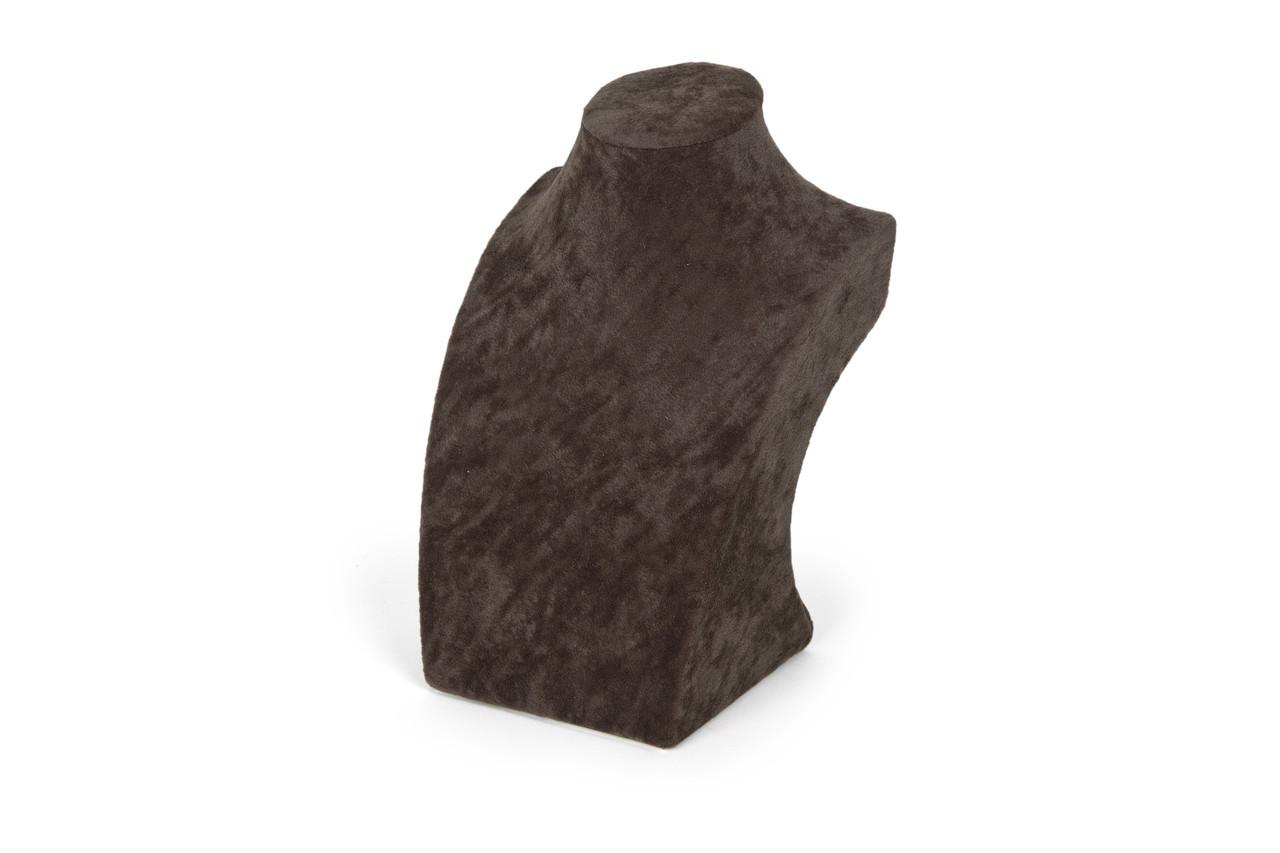 "Бюст ювелирный ""Бархат коричневый h=19,5 см"""