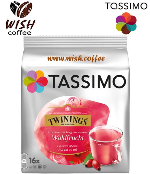 ЧАЙ в капсулах Тассимо - Tassimo Tea Twinings Fruits Of The Forest (16 порций)