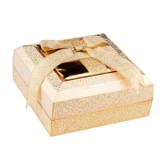 Футляр для гарнитура Пластик золото