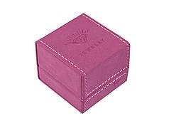 """Подарочная коробочка для кольца """"Jewelry"""" бордо"""