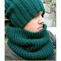 Шарф Снуд, шарф - труба для взрослых и деток
